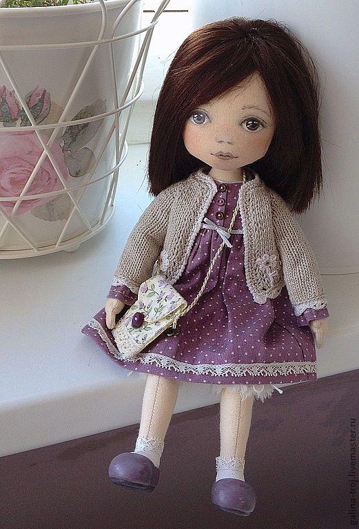 Купить Молли - авторская кукла, интерьерная кукла, игровая кукла, подарок девушке, подарок девочке