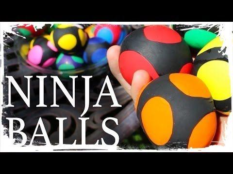 How to Make Ninja Stress Balls! - YouTube