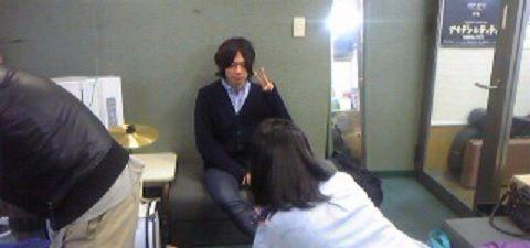[Champagne]川上洋平2010/11/22 ようぺいん取材終了! 高校生か!! ☆すみれ