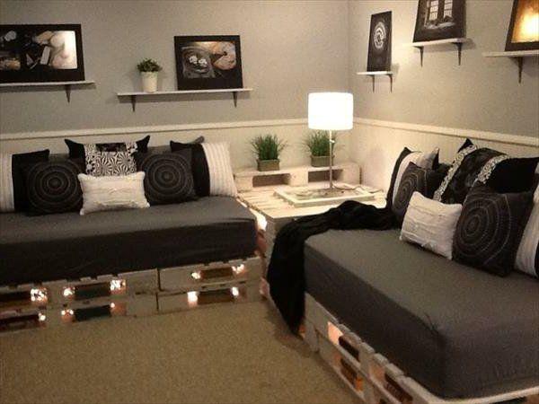 Die 25 besten ideen zu sofa selber bauen auf pinterest for Couch aus europaletten