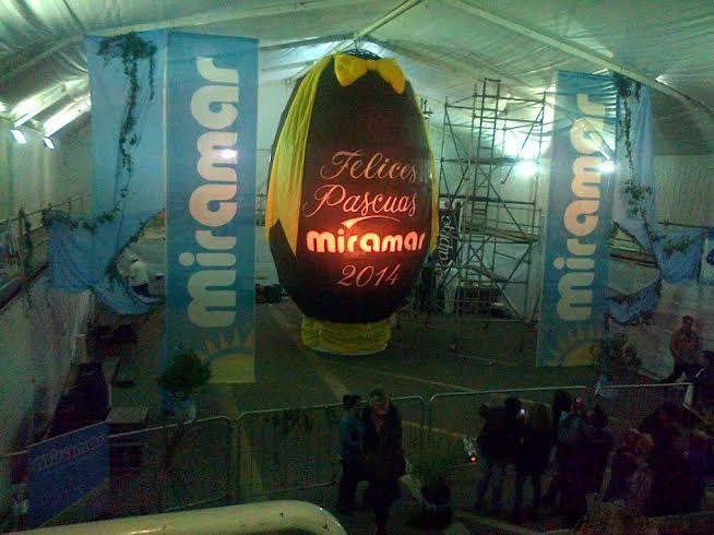 Huevo de Pascua Gigante Miramar 2014