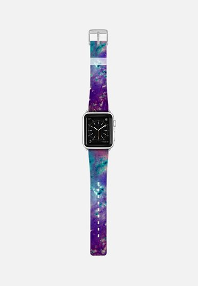 Watercolors Universe Apple Watch Band (38mm) by Denis Marsili   Casetify