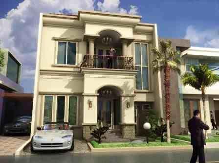 http://inrumahminimalis.com - Rumah Mewah Minimalis 2 Lantai Tampak Depan