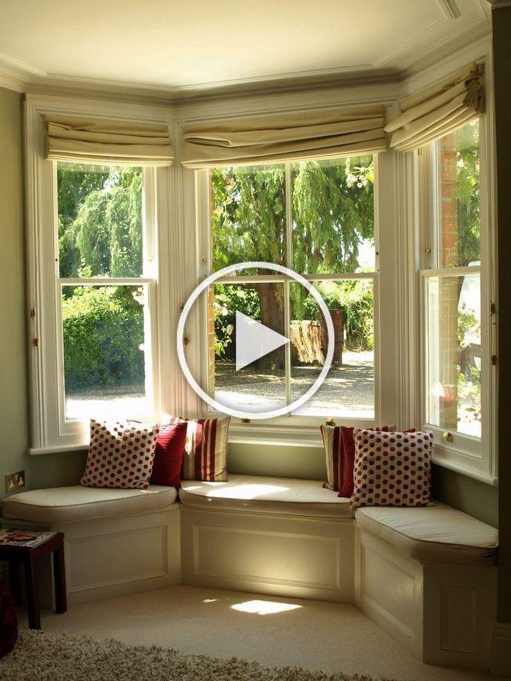 20 relaxing bay window design ideas that makes you enjoy