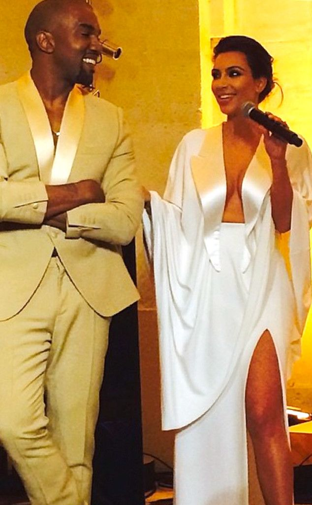 John Legend Performs All of Me, Gives Moving Speech at Kim Kardashian and Kanye West's Wedding | E! Online Mobile
