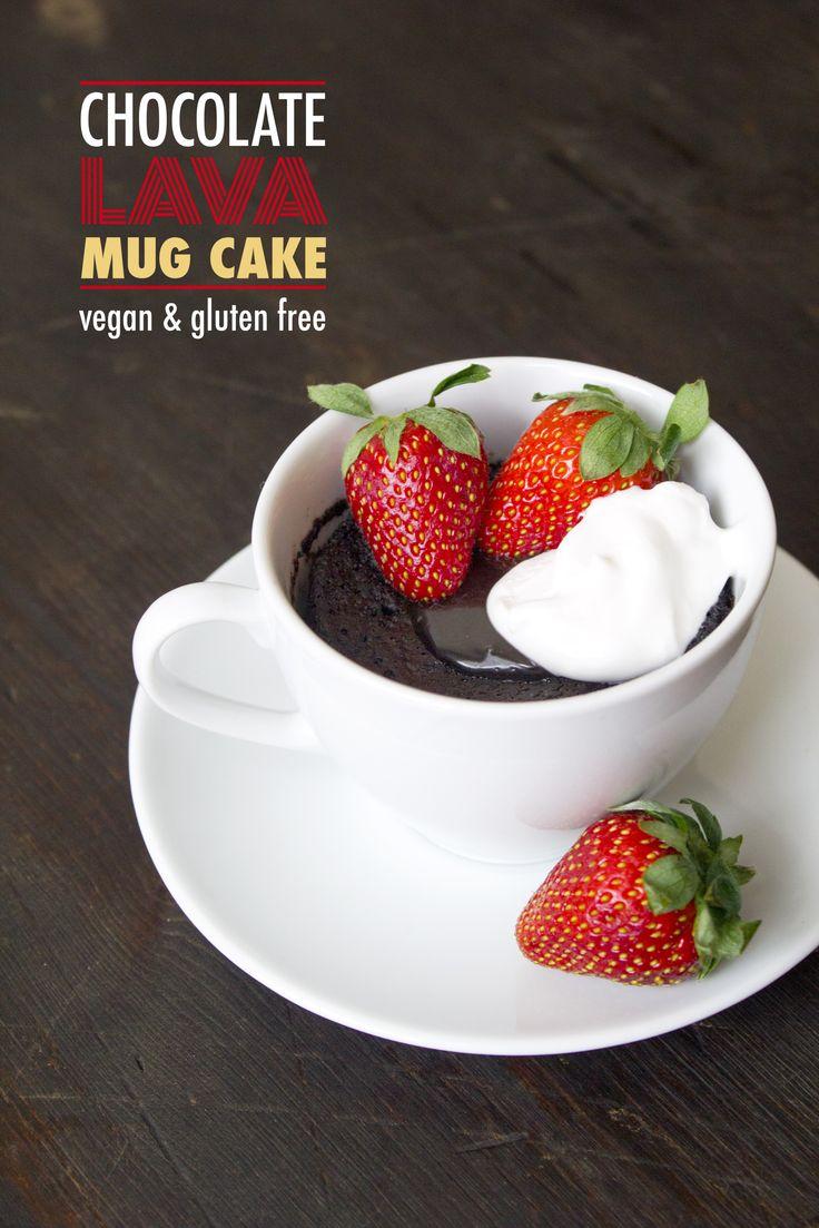 Eggless Gluten Free Mug Cake