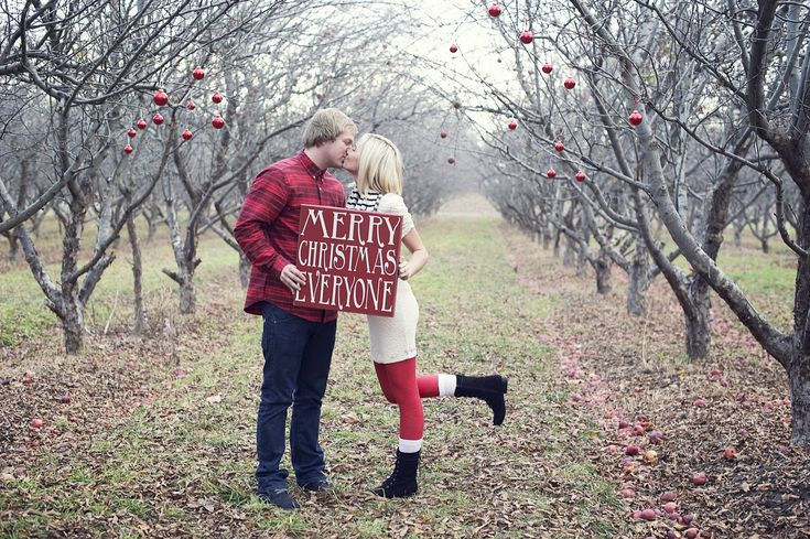 Couple Christmas card