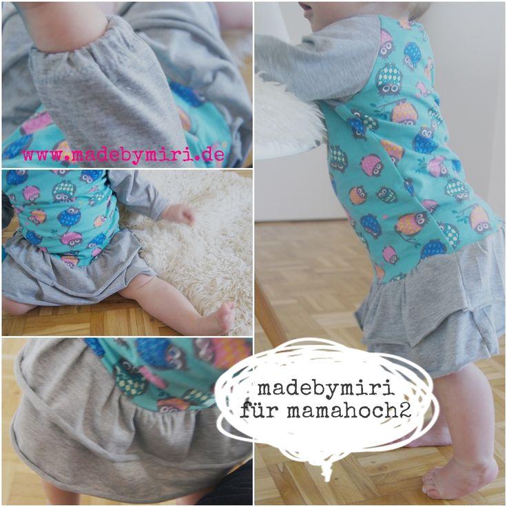 Langarm kleid baby nahen