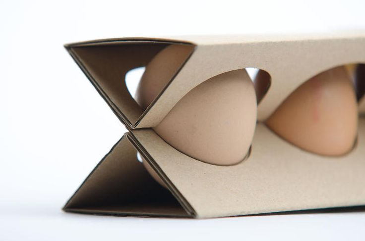 3 | The Egg Carton Reinvented, To Save Space and Materials | Co.Design | business + design