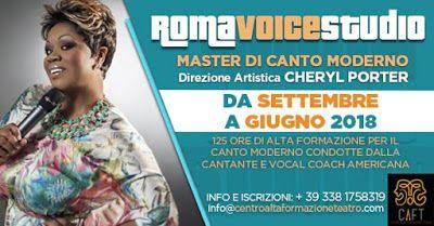 Cheryl Porter direttrice artistica del ROMA VOICE STUDIO