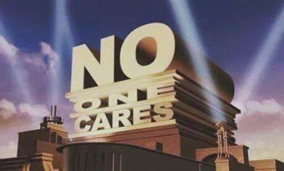 doo do do do do do do do do... do do do NO ONE CARES do do do do.. NO ONE CARES!. DO DO DO DO NO ONE CAAAARRRRREEES!