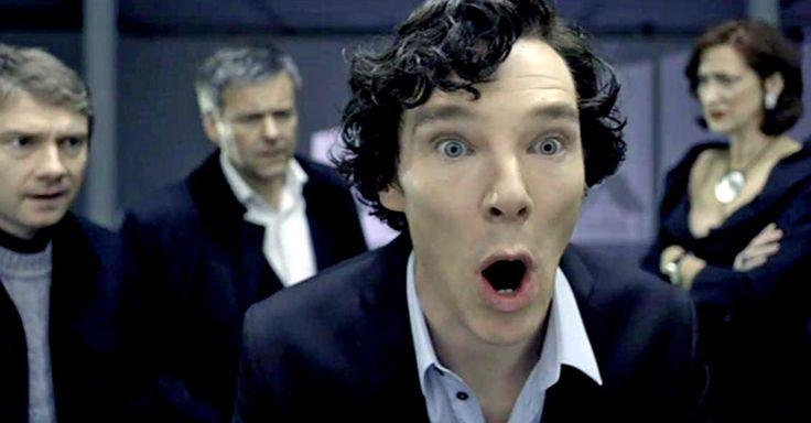 """Im Anzeigenteil der """"Times"""": In """"Sherlock""""-Manier: Cumberbatch versteckt Verlobung"""