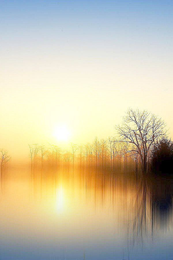 Mist upon the waters ~