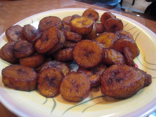 Alloco recipe .. Another staple across the continent are plantains