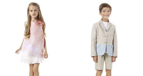 Fendi Kids, la collezione Primavera Estate 2015: eleganza e raffinatezza per bambini