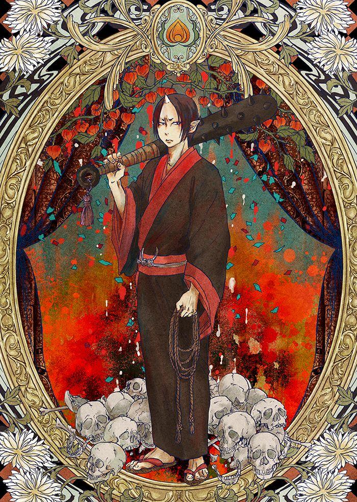 Hoozuki no Reitetsu ~~ Portrait :: Hoozuki