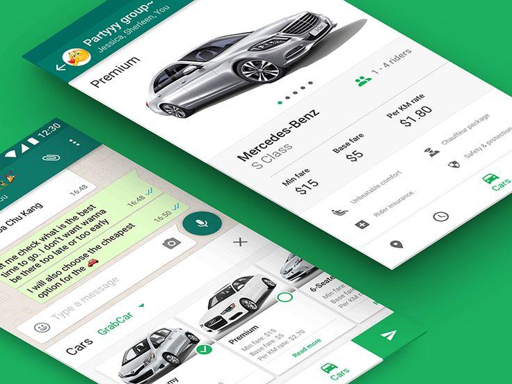 Car riding app