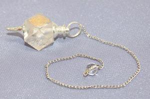 Chokurei Clear Quartz Pendulum