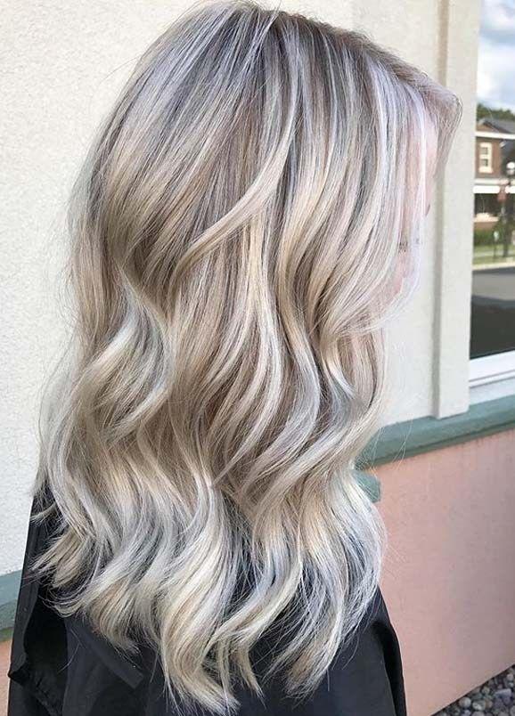 Unique Ashy Beige Blonde Hair Color Ideas For Ladies 2019 Beige