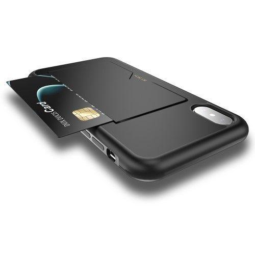 coque iphone xr porte carte