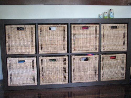 Ikea Glasvitrine Beleuchtung ~   storage on Pinterest  Toy Storage, Ikea Expedit and Playroom Storage