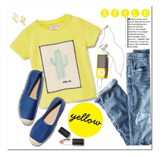 """MELLOW MOOD"" by adduncan ❤ liked on Polyvore featuring CAM, J.Crew, MANGO, Sigma Beauty, contest and yellow"
