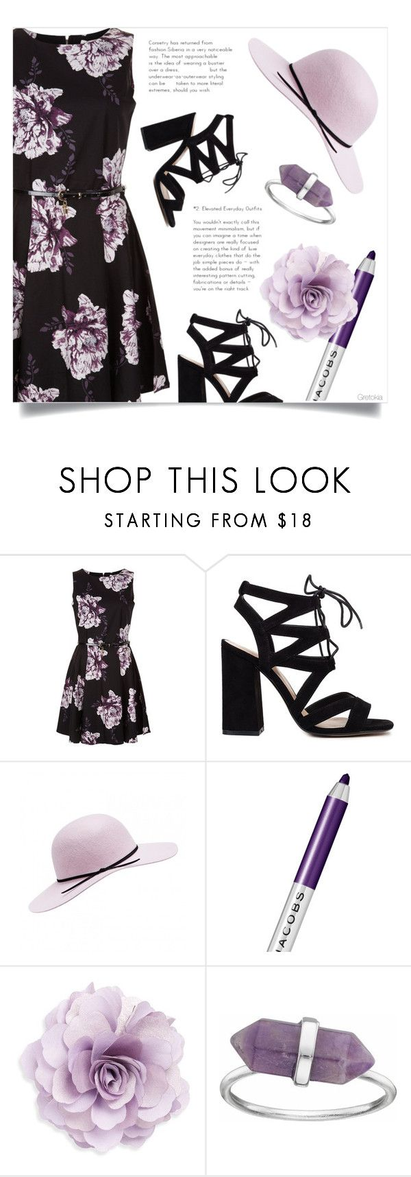 """""""Le sfumature sono importanti"""" by gretokia ❤ liked on Polyvore featuring Marc Jacobs and Cara"""