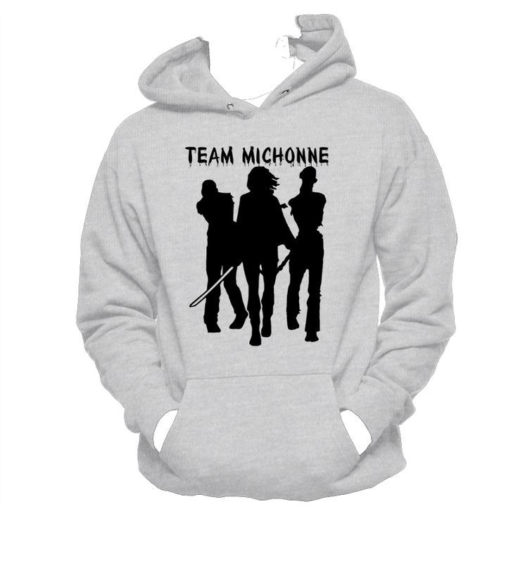 Team Michonne, Hanes Unisex Sweatshirt, Hooded Sweatshirt, Michonne Walking Dead,Geek Chic,T-Shirt,Best Gift,Typography,pop culture