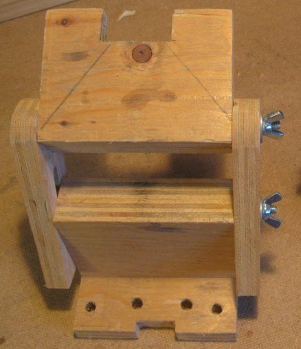 The Cheapest Sharpening Tool Rest Jig Shop Made Grinder