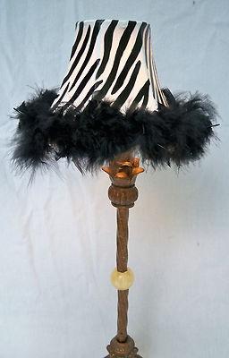 Zebra Print Lamp Shade For Zebra Stripe Home Decor