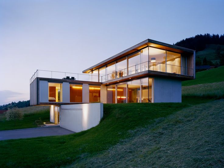 Haus n by dietrich untertrifaller architekten for Haus design moderne architektur