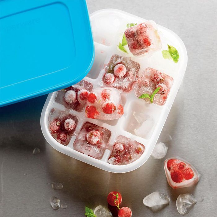 Prep and freeze baby food for later or create beautiful, fruit-filled ice cubes with our Freezer Mates! #Tupperware #TupperTitan