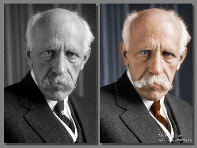 Fridtjof Wedel-Jarlsberg Nansen, colorized