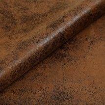 Tecido de couro ecológico velho marrom mesclado - tecdec