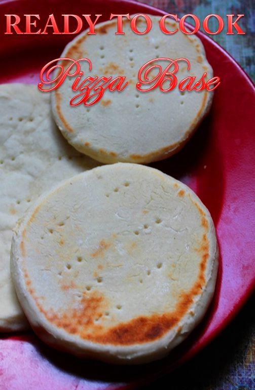 Ready to Cook Pizza Base Recipe / How to Make Pizza Base at Home