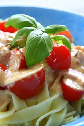 Pasta med baconsås | Jennys Matblogg