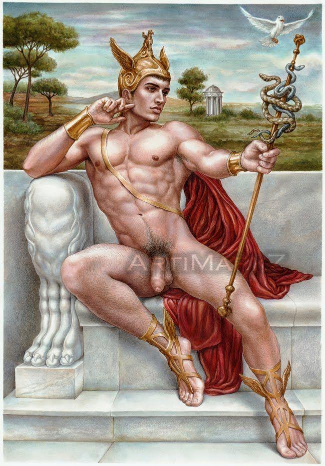 Naked Greek God 22