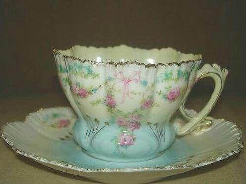 Tea Cup and Saucer <3