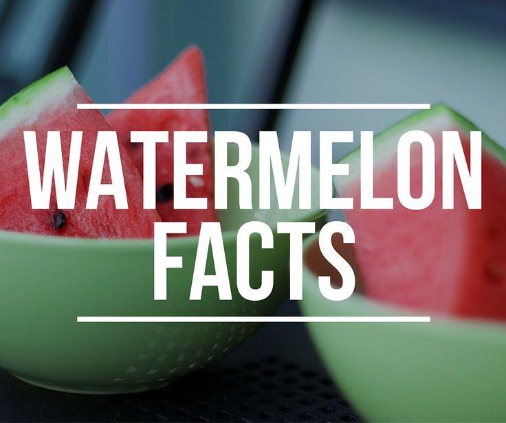 10 + 1 πράγματα που δεν ήξερες για το καρπούζι