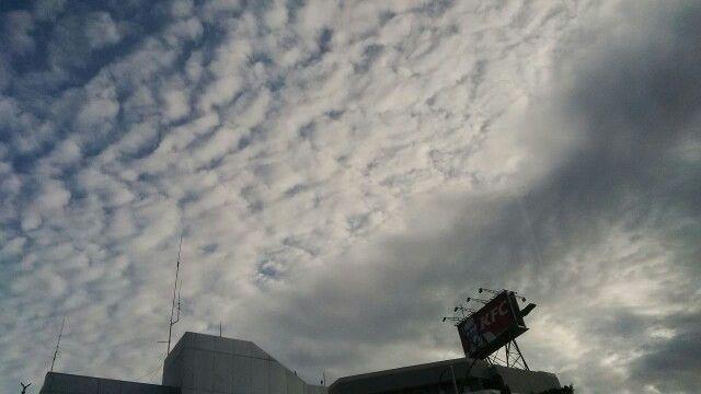 Awan pagi di langit Pancoran  #kamis24maret2016