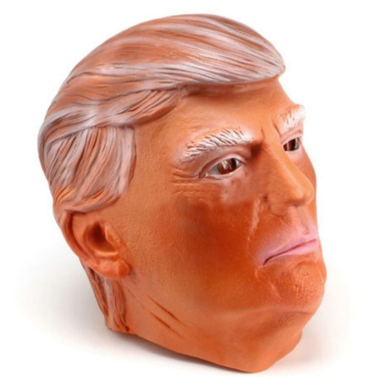 For Donald Trump Fun Masks Costume Mask Presidential Republican Primary Rallies Halloween Cosplay Mask Party VDZ58 T20 0.5