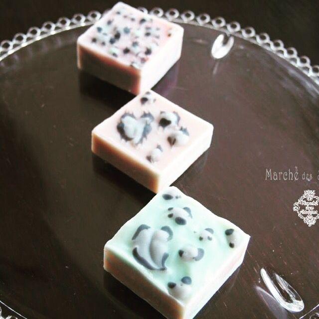 #handmadsoap #leopard #soap