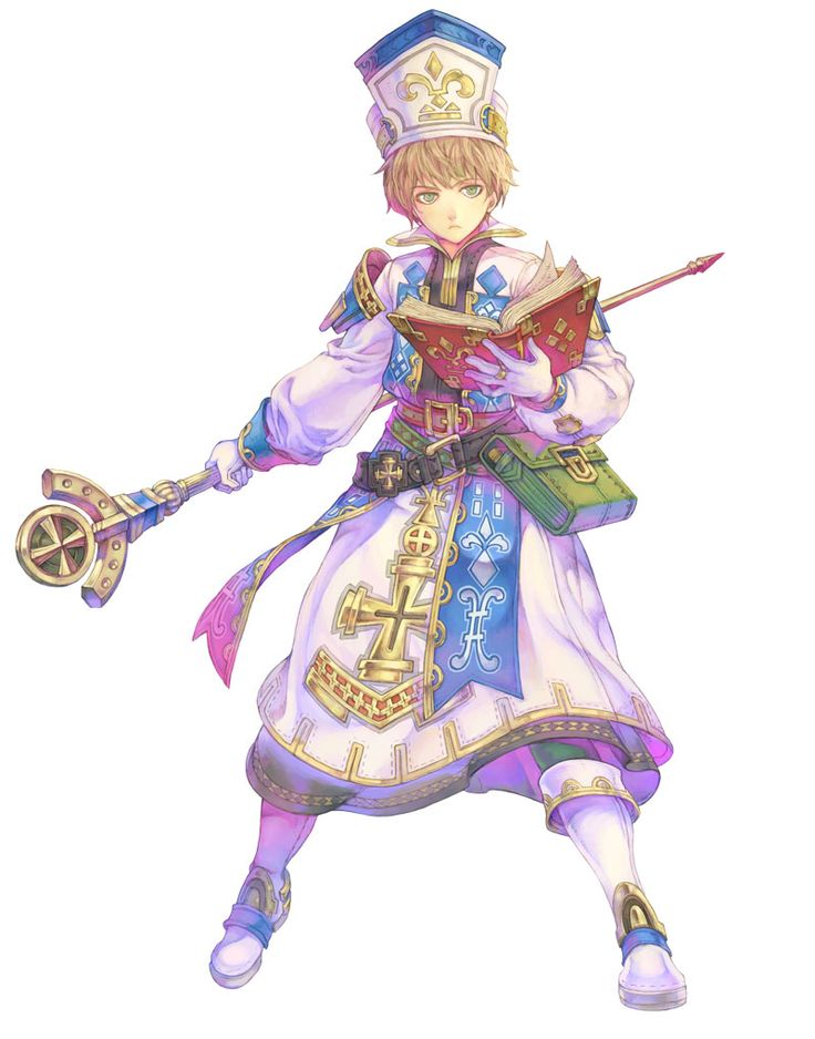 Cleric Male   Lime Odyssey: The Chronicles of Orta