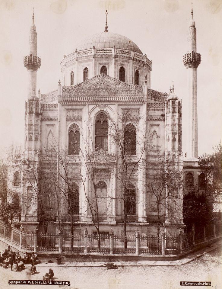 Aksaray Valide Camii Basile Kargopoulo Fotoğrafı 1875
