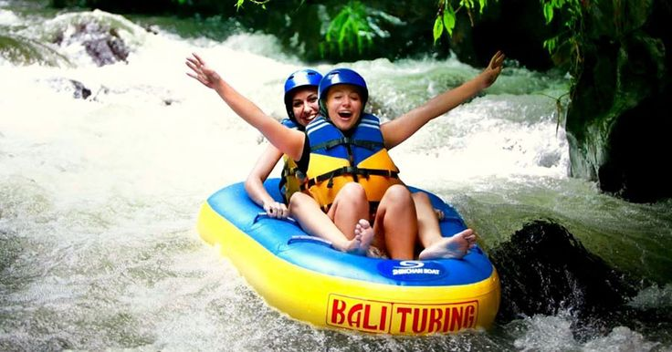 Bali Canyon Tubing is a travel adventure in Bali it's location in Payangan Village. Come with your friends and enjoy this great travel adventure. #balicanyontubing #canyontubing #baliactivities