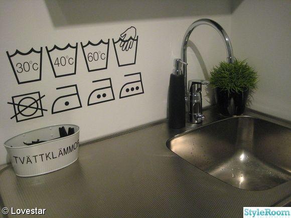 tvättstuga - En klippbok om inredning