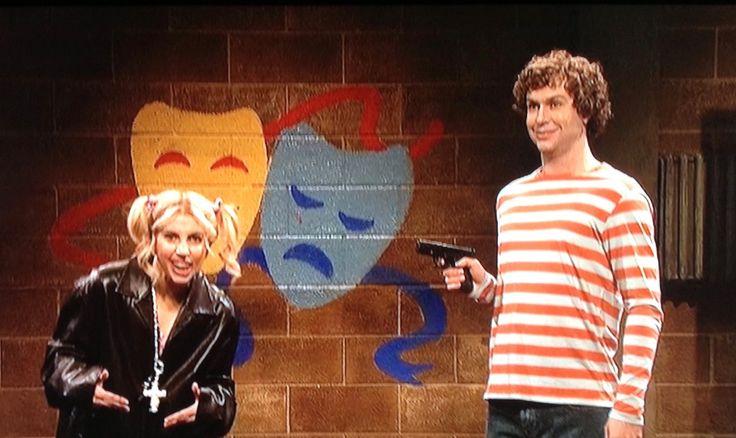Lady Gaga still SNL guest host skit