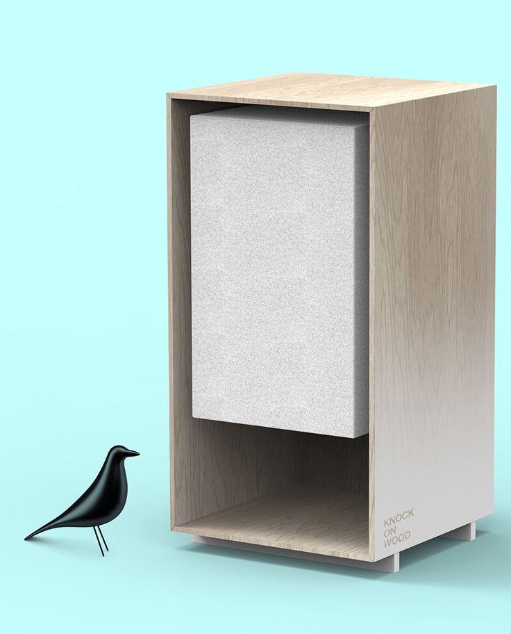 knock on wood knock wood handmade speaker project work in progress