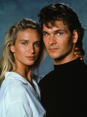 "Patrick Swayze as James Dalton & Kelly Lynch as Dr. Elizabeth ""Doc"" Clay in 1989's ""Roadhouse"""