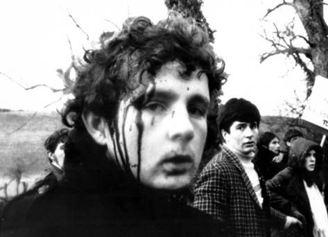 People's Democracy group organised a four-day march from Belfast to Derry, starting on 1/1/69. The most serious incident was near Burntollet Bridge in County Derry, when marchers were ambushed by some 200 loyalists.